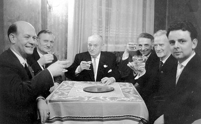 70 Jahre Spielmannszug 1962